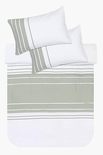 Soft Touch Pleat Duvet Cover Set