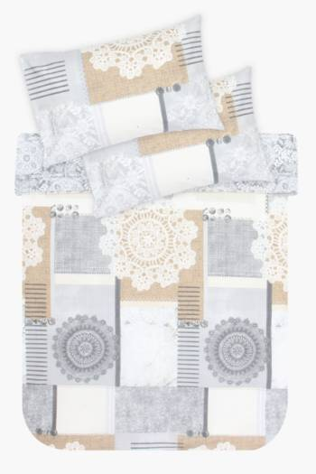 Printed Classic Duvet Covet Set
