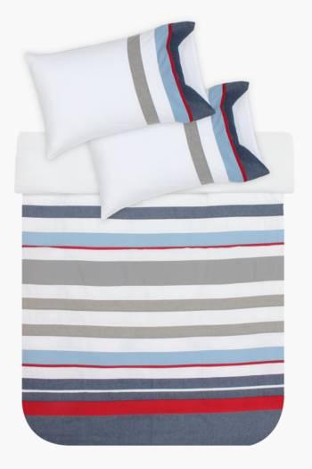 Coastal Panel Stripe Duvet Cover Set