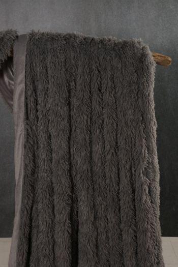 Faux Fur Shaggy 180x200cm Blanket