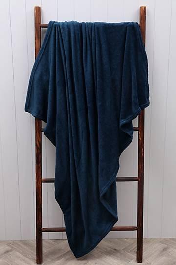 Plush Plain Blanket, 125x150cm