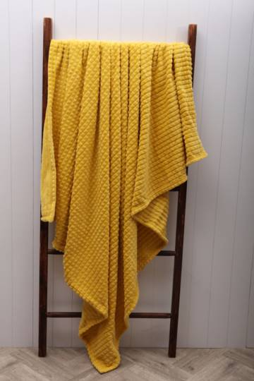 Jacquard Stripe Blanket, 150x200cm