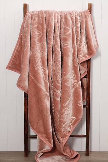 Mink Embossed Blanket, 200x300cm