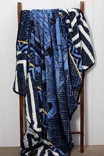 Colab Zebulon Cheunyane Blanket, 200x230cm