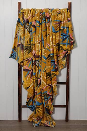 Super Plush Strelitzia Blanket, 200x220cm