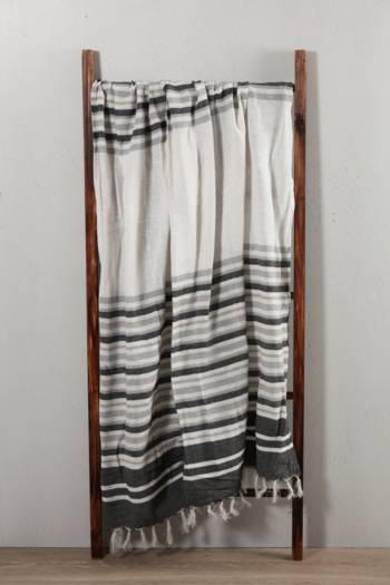 Woven Stripe Throw 140x180cm
