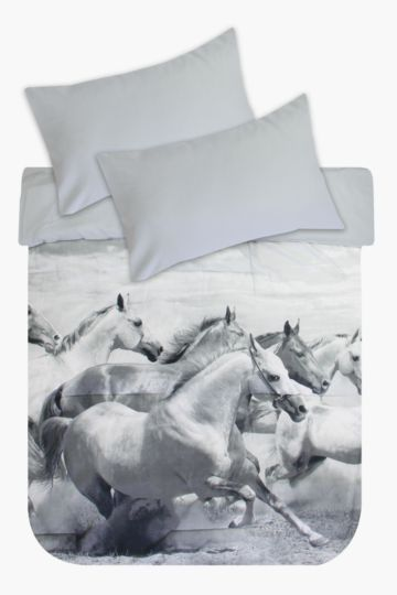 Printed Photographic Horse Comforter Set