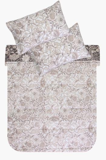 Printed Floral Comforter Set