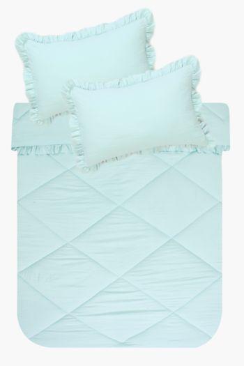 Frill Comforter Set