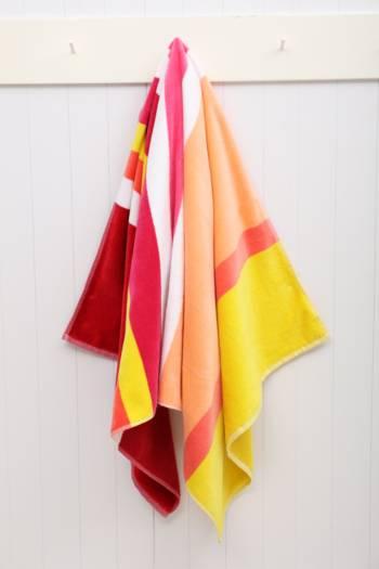 Multi Stripe Beach Towel