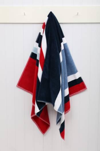Coastal Stripe Beach Towel