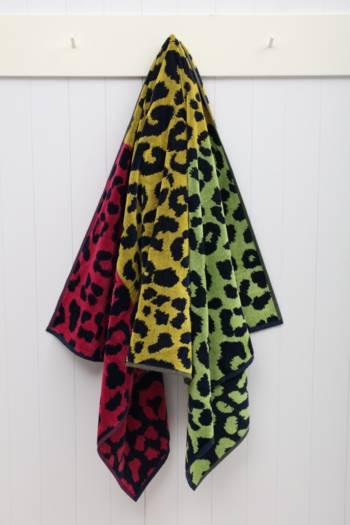 Jacquard Leopard Beach Towel
