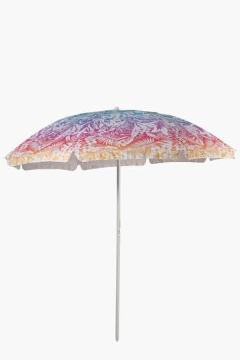 Botanical Ombre Beach Umbrella