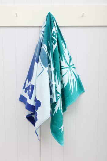 Surfers Wave Beach Towel