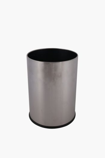 Brushed Metal Bin