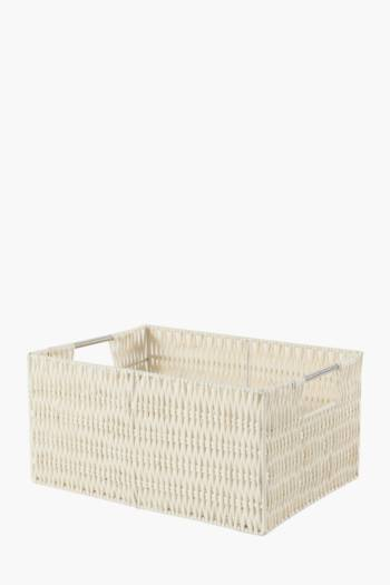 Polypropylene Utility Basket, Large