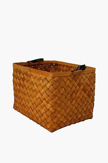Wood Flat Weave Utility, Large