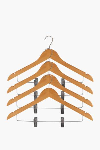 Wooden Hangers With Hooks