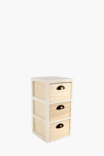Ombre 3 Drawer Storage Unit