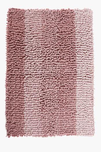 Ombre Stripe Bath Mat