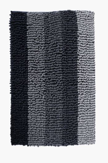 Ombre Stripe Bath Mat