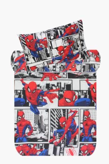Microfibre Spiderman Duvet Cover Set