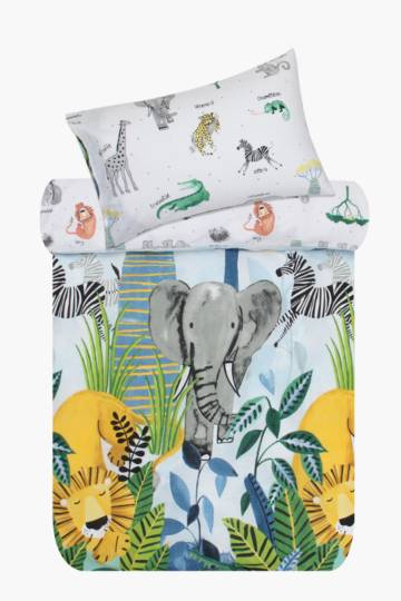Summer Safari Duvet Cover Set