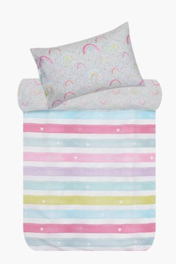 Rainbow Love Duvet Cover Set