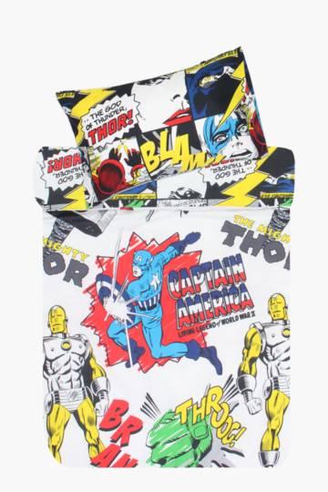 Marvel Comic Duvet Cover Set