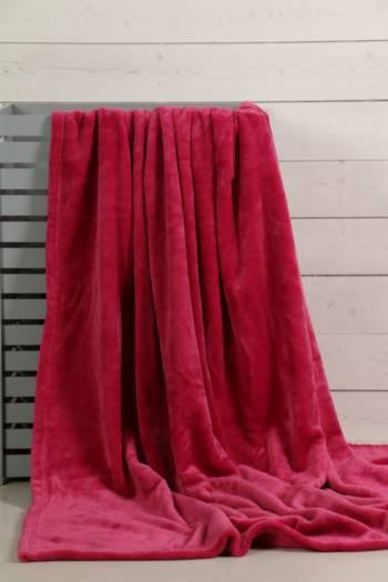 Microfibre Plush Blanket, 150x180cm