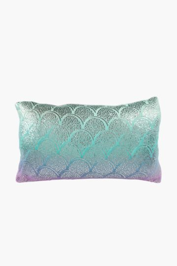 Plush Ombre Cushion, 30x50cm