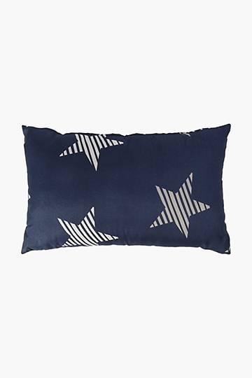 Microfibre Stars And Stripes Pillowcase