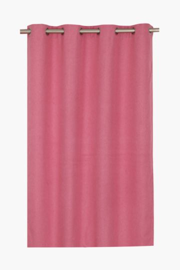 Lucca 140x225cm Block Out Eyelet Curtain