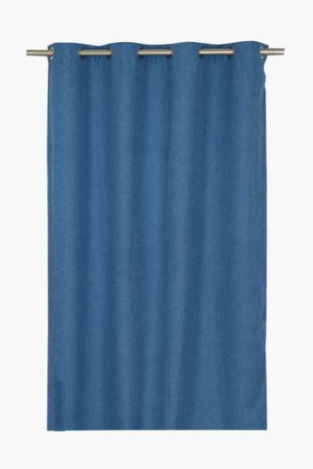Lucca Textured Eyelet Curtain Curtain, 140x225cm