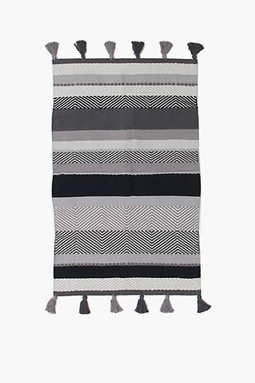 Coton Tassle Ombre Rug