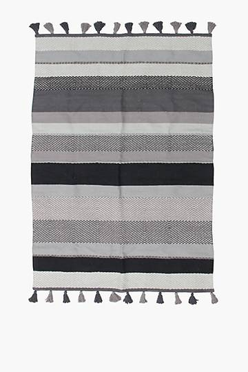 Cotton Tassel Ombre Rug,120x180cm