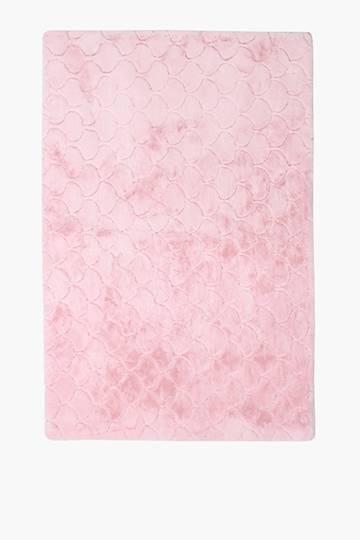 Embossed Scalloped Rug, 120x180cm