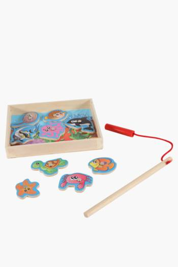 Wooden Magnetic Under The Sea Puzzle
