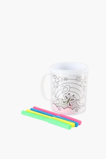 Colour Your Own Mug