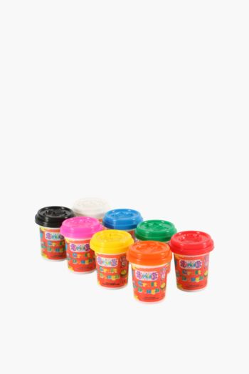 Pack Of 8 Play Dough Tubs