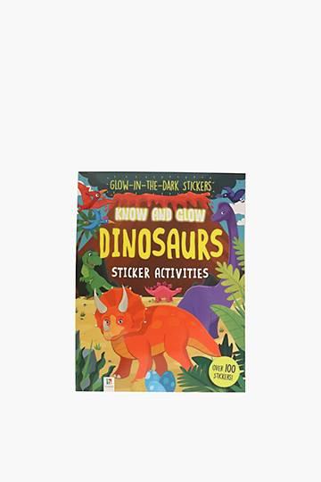 Know And Glow Dinosaurs Sticker Set
