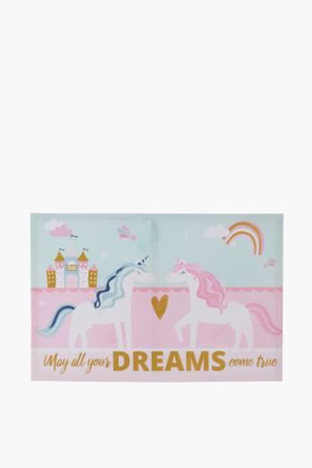 Unicorn Friend Canvas, 40x60cm