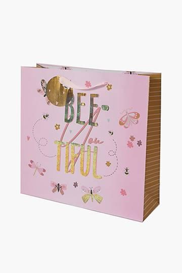 Bee Gift Bag Medium