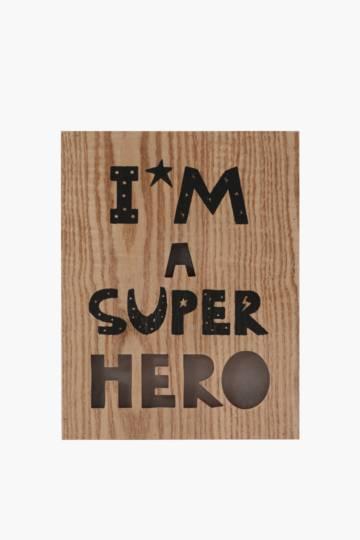 Lightbox Superhero