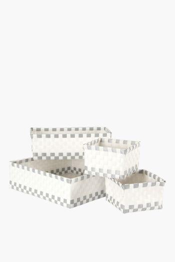 Polypropylene Divisional Utility Baskets