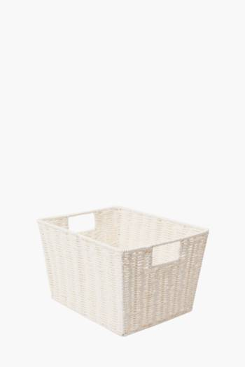 Paper Weave Medium Utility Basket