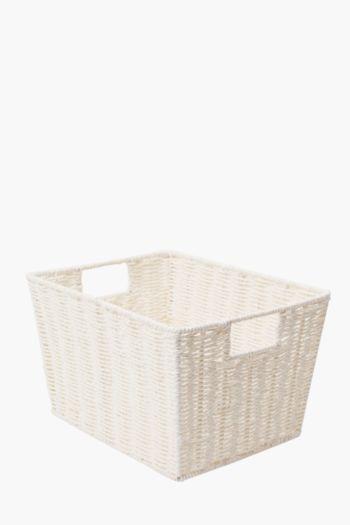 Paper Weave Large Utility Basket