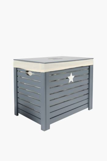 Wooden Star Toy Box
