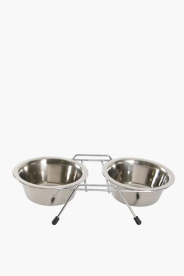 Pet Bowls On Stand