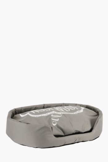 Woof Script Pet Bed, Extra Large